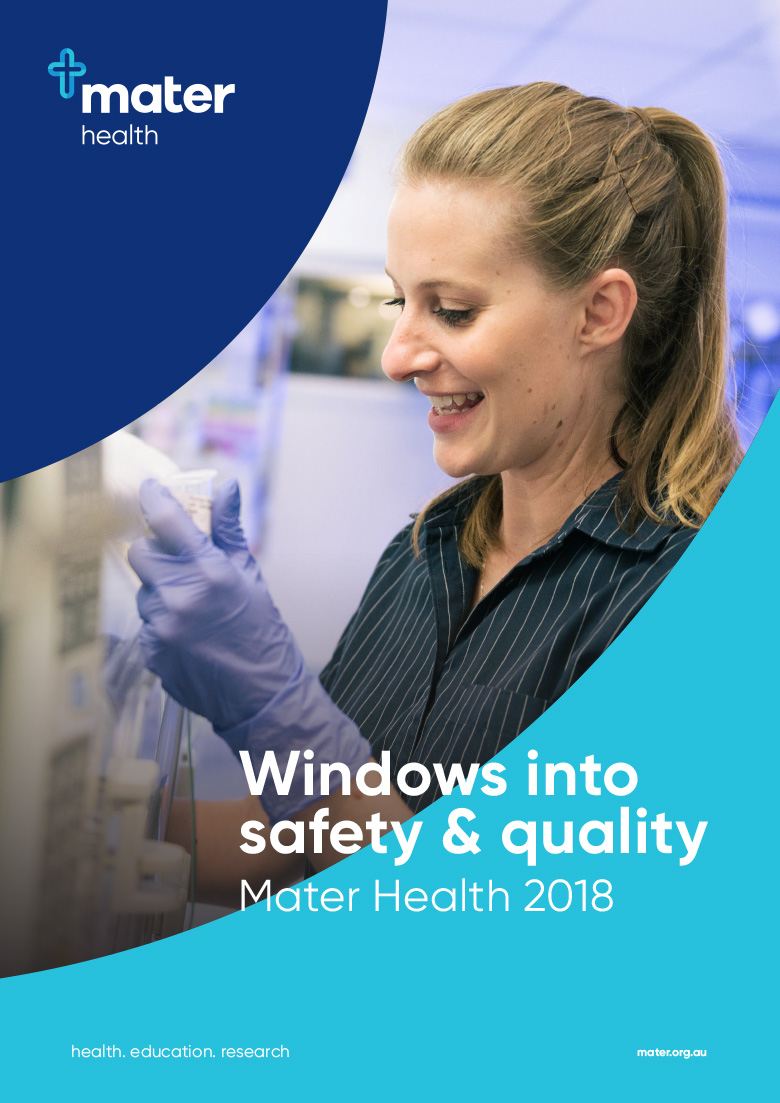 Mater Safety and Quality report 2019